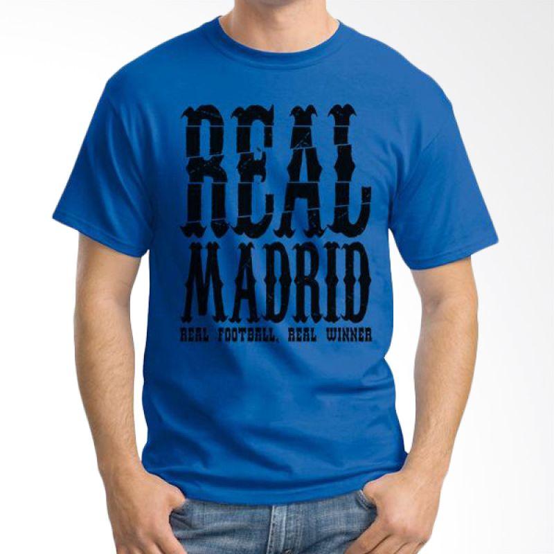 Ordinal Real Madrid 05 Biru Tua Kaos Pria