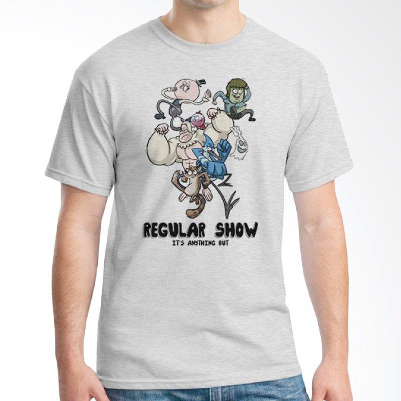 Ordinal Regular Show 13 Abu-abu Kaos Pria