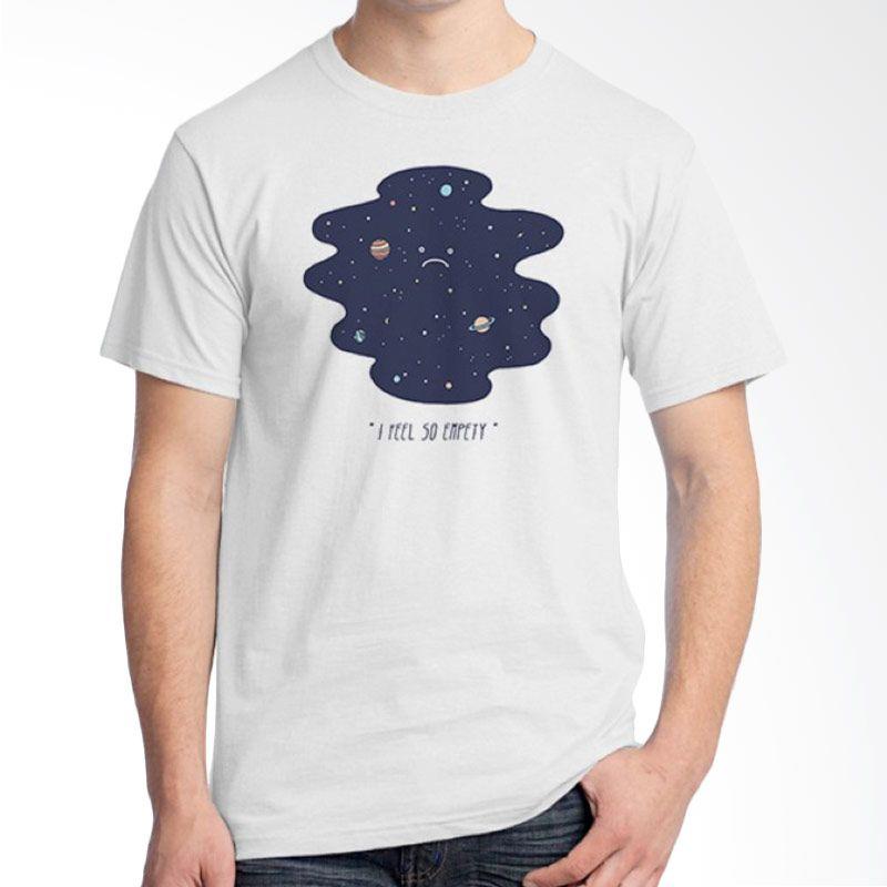 Ordinal Space 12 Putih Kaos Pria