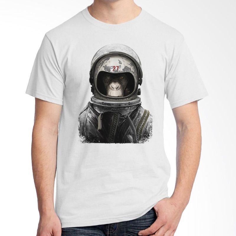 Ordinal Space 16 Putih Kaos Pria