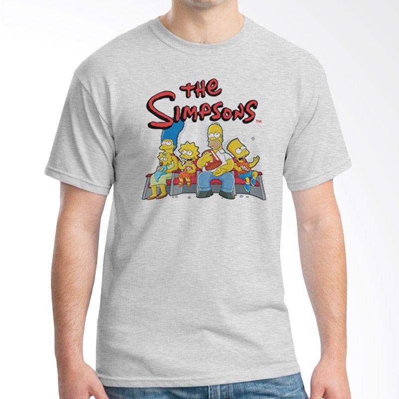Ordinal The Simpsons Abu-abu Kaos Pria