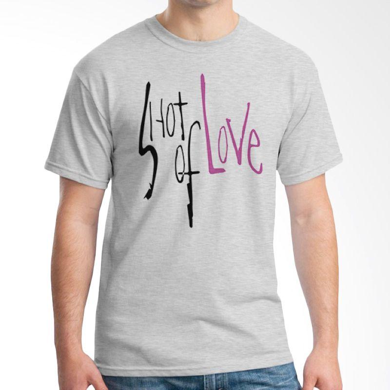 Ordinal Typography Love 13 Abu-abu Kaos Pria