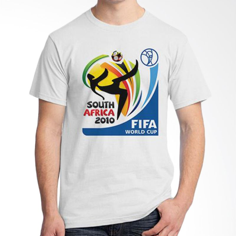 Ordinal World Cup Classic Edition 04 Putih Kaos Pria