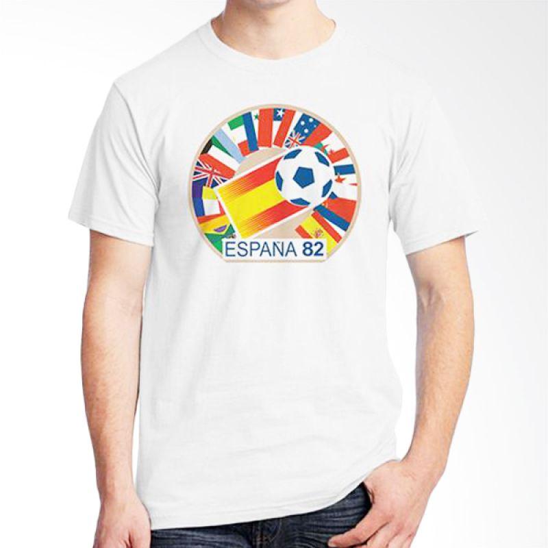 Ordinal World Cup Classic Edition 06 Putih Kaos Pria