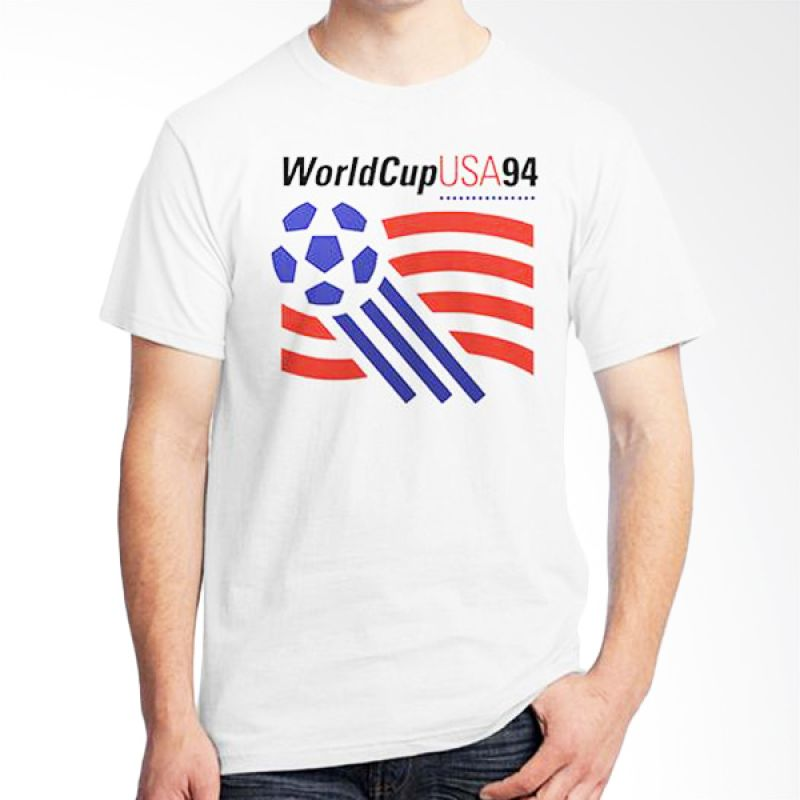 Ordinal World Cup Classic Edition 12 Putih T-Shirt Pria