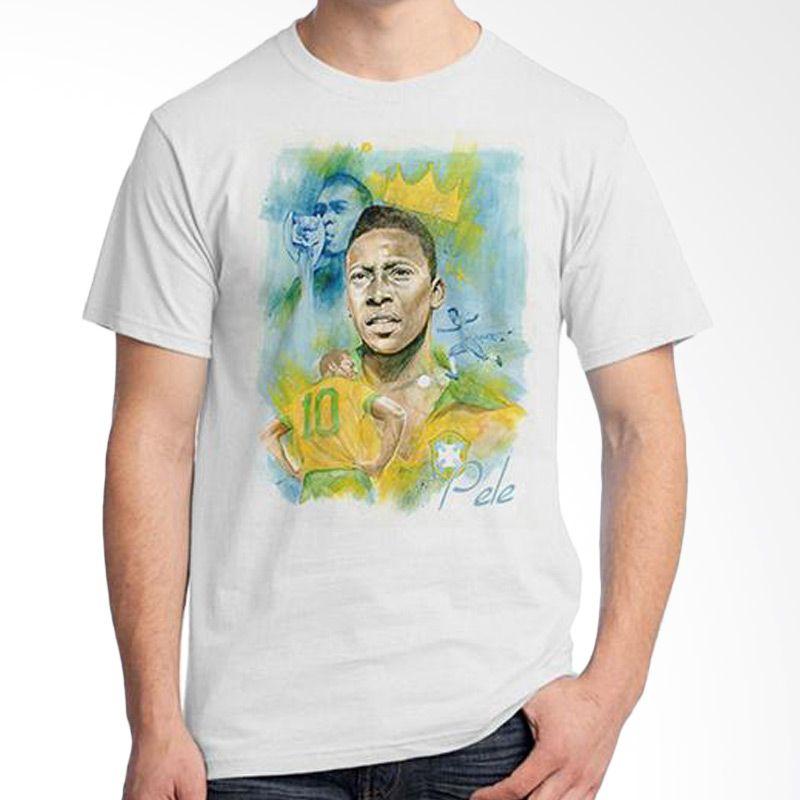 Ordinal World Cup Classic Edition 15 Putih Kaos Pria