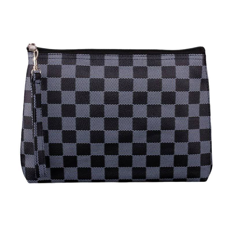 Quinta Cubicle Chess Black Dompet Wanita