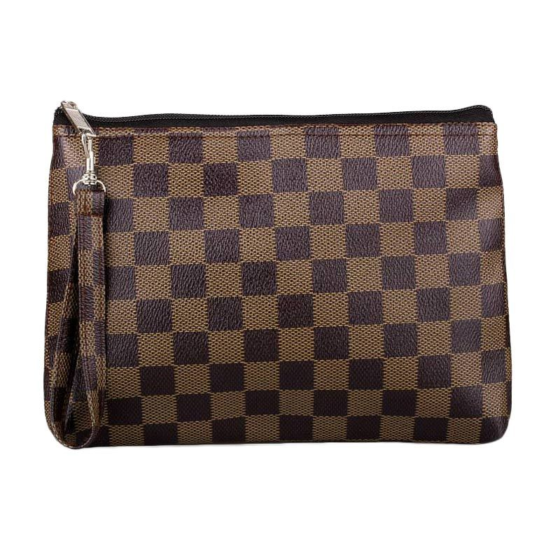 Quinta Cubicle Chess Brown Dompet Wanita
