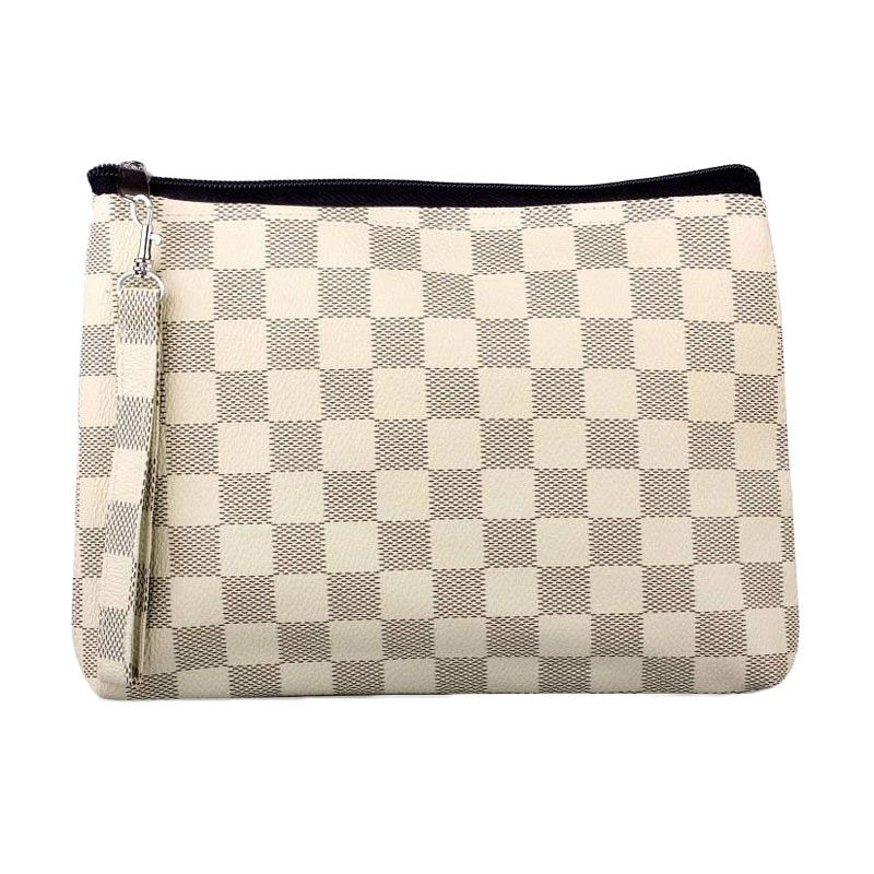 Quinta Cubicle Chess Cream Dompet Wanita