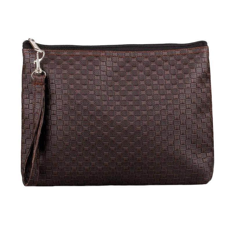 Quinta Cubicle Dark Brown Dompet Wanita