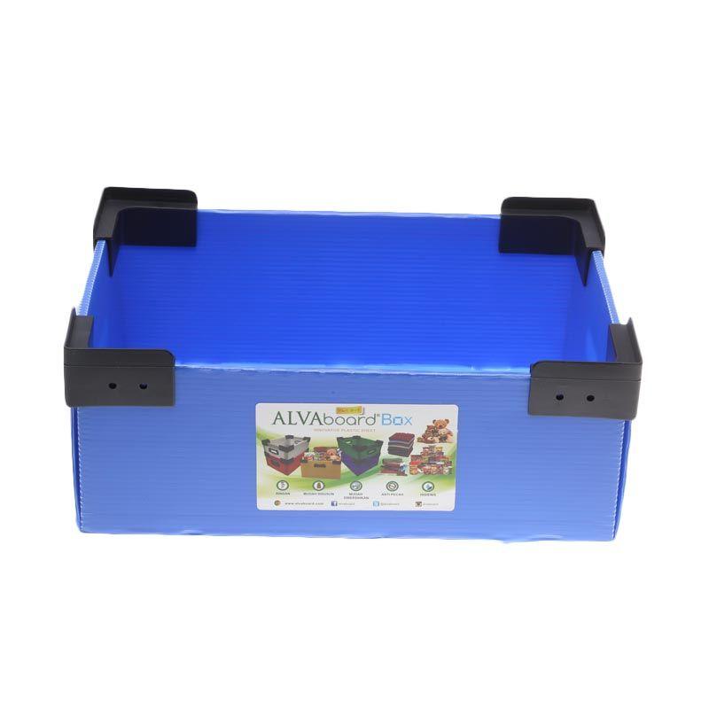 ALVAboard ALVAbox Biru Flatpack Box Organizer