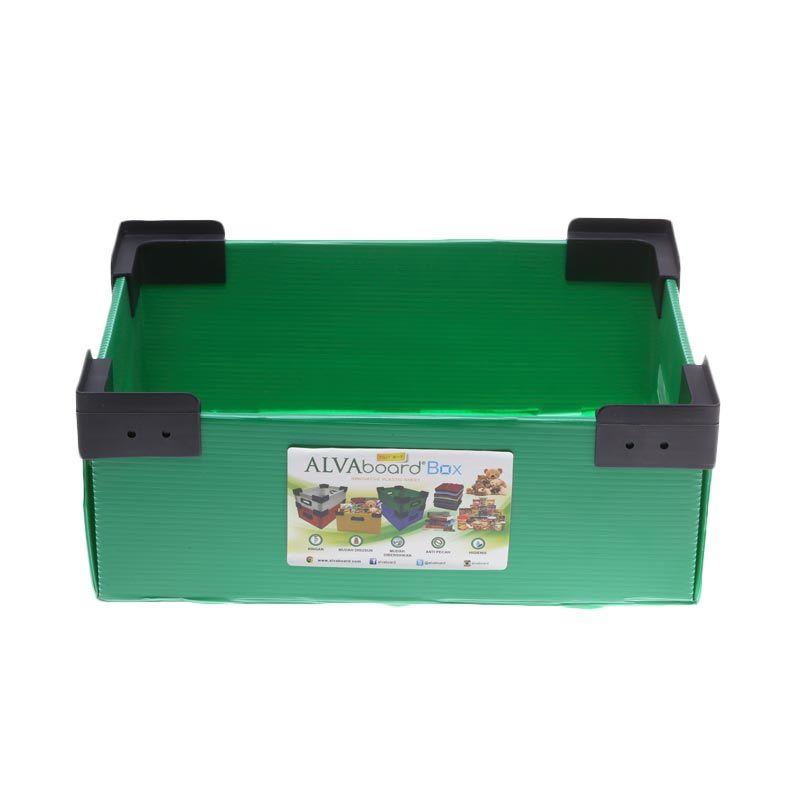ALVAboard ALVAbox Hijau Flatpack Box Organizer