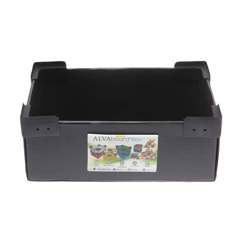 ALVAboard ALVAbox Hitam Box Flatpack