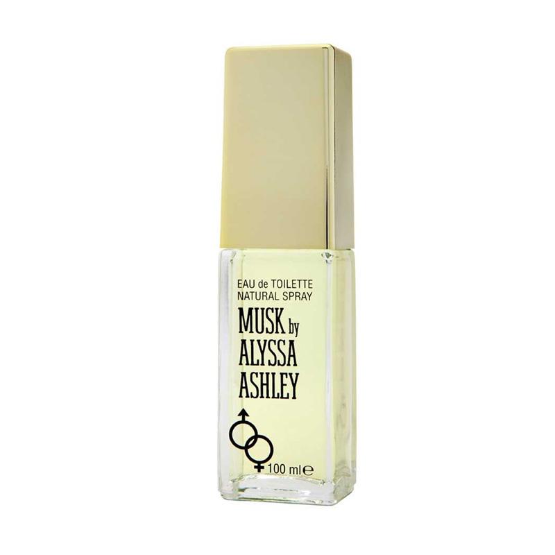 Alyssa Ashley White Musk Unisex Parfum EDT Wanita [100 mL]