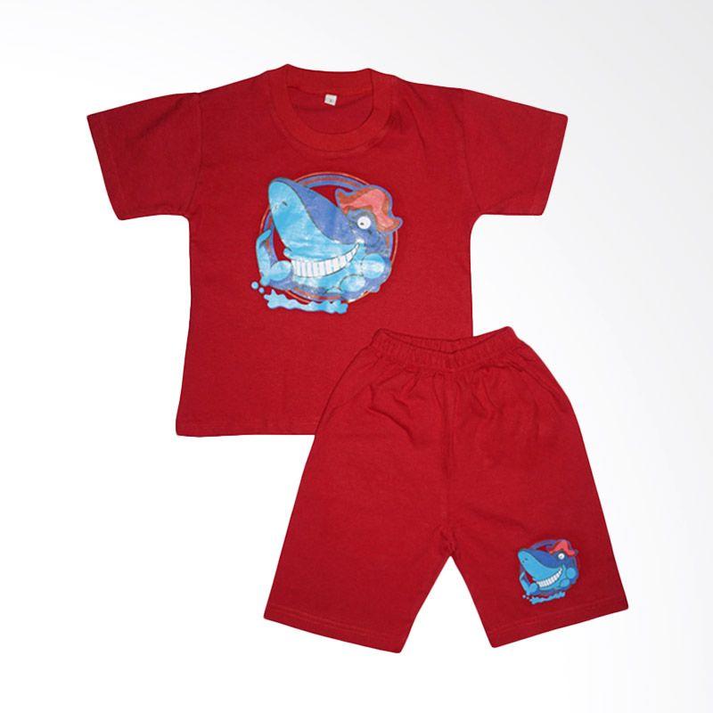 Amaris STL 001 Red Setelan Anak