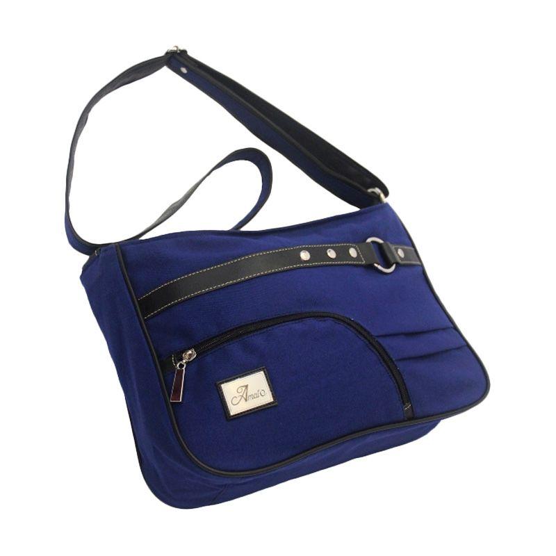Amato Bag Actrit Dark Blue Aqua Tas Selempang