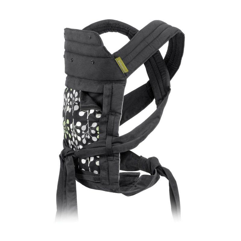 Infantino Eco Sash Wrap and Tie Carrier 200-431 Vines Black Gendongan Bayi