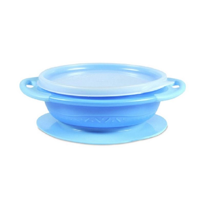 The First Years Section Bowl & Lid Y4642 Biru Alat Makan Bayi