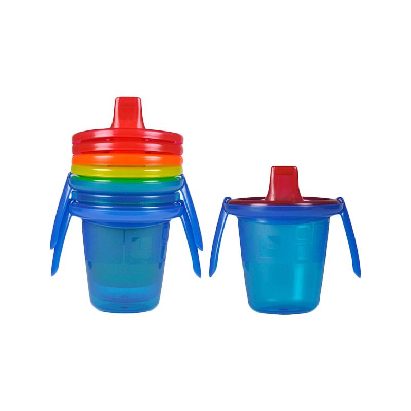 The First Years Spill Proof Y4421 Trainer Cup Gelas [207 mL/4 Pcs]