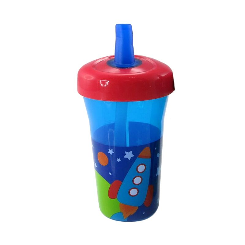 The First Years Straw Cup Y6174 Spaceship Gelas Bayi [270 mL]