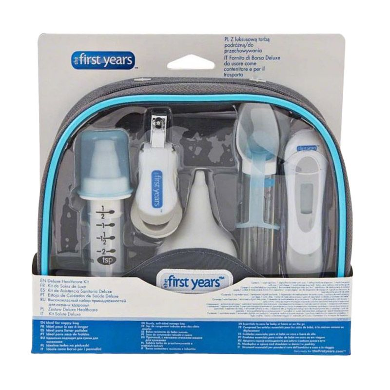 The First Years Y7055 Comfort Care Deluxe Kit Set Peralatan Bayi
