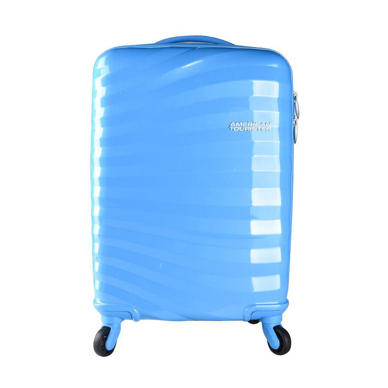 American Tourister Coastline Spinner 55-20 TSA Horiz ACRI20021001HRZ55# Koper - Blue