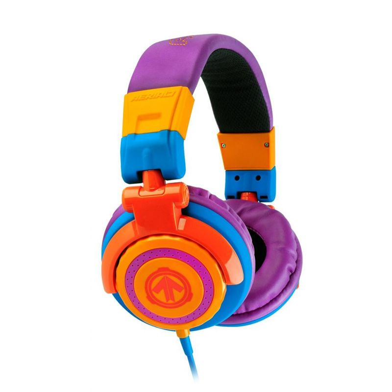 Aerial7 Tank Graffiti Ungu Headphones