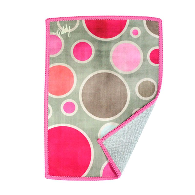 Toddy Gear Bubbaloo Pink Kain Microfiber