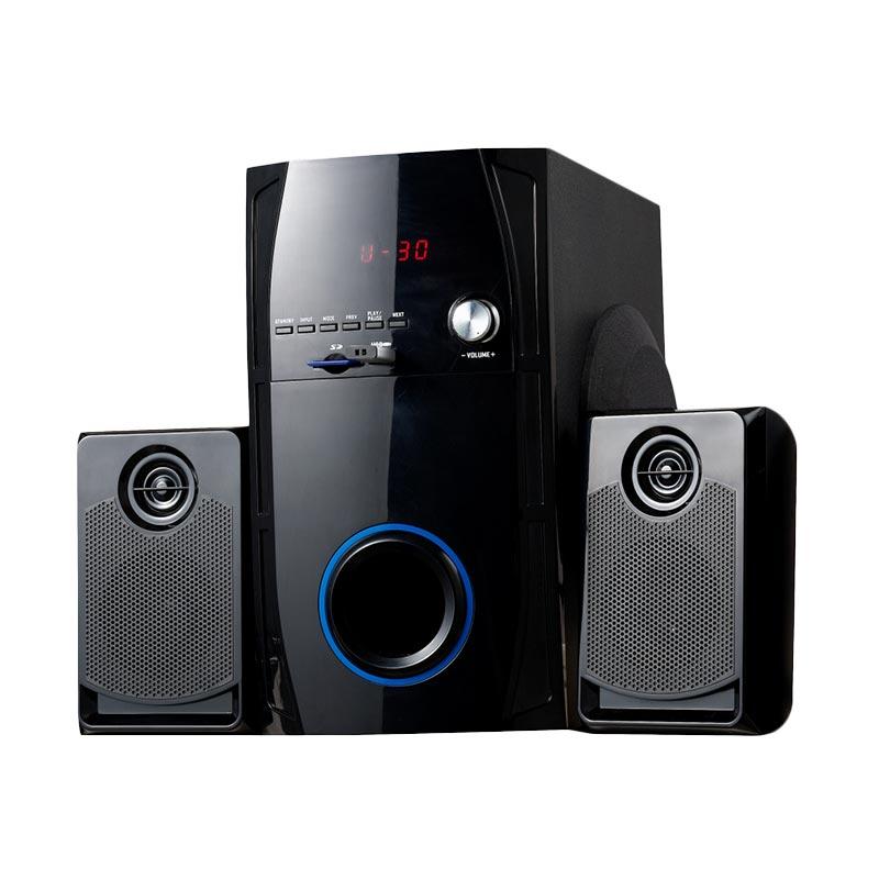harga Amptron SSE-3082F Multimedia Speaker - Hitam Blibli.com