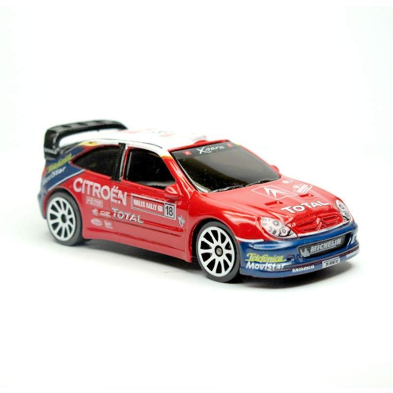 Majorette Racing Box Citroen Xsara WRC