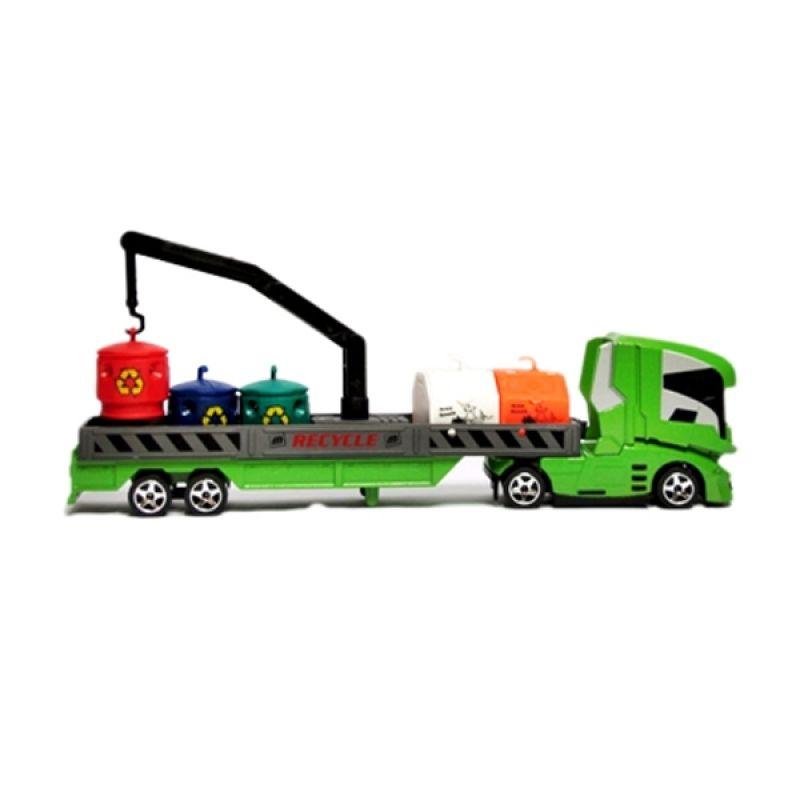 Majorette Transporter Recycling