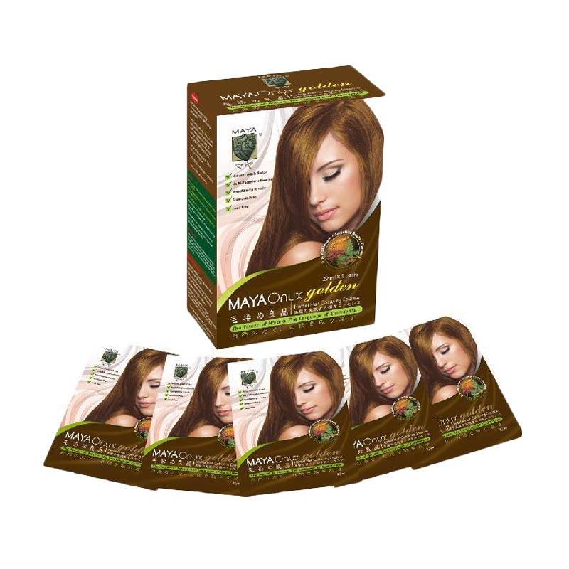 Maya Onyx Gold Shampoo Natural Hair Color