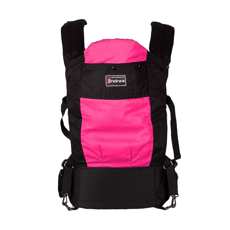 Andrea Baby Carrier Gendongan Pink