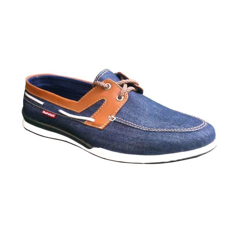Andretelli Andre Casual Navy Blue Sepatu Pria
