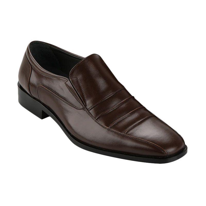 Andretelli Men Enrico Dress Shoes Brown