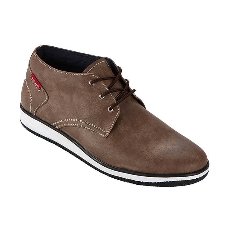 Stanley Semi Boots Brown