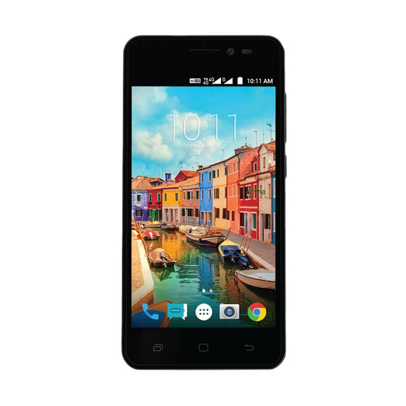 Andromax A Smartphone - Hitam [8 GB ROM/1 GB RAM]
