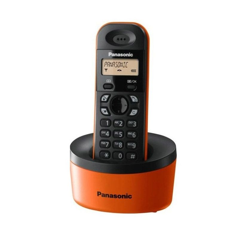 Panasonic Cordless Phone KXT-1311 Orange Telepon