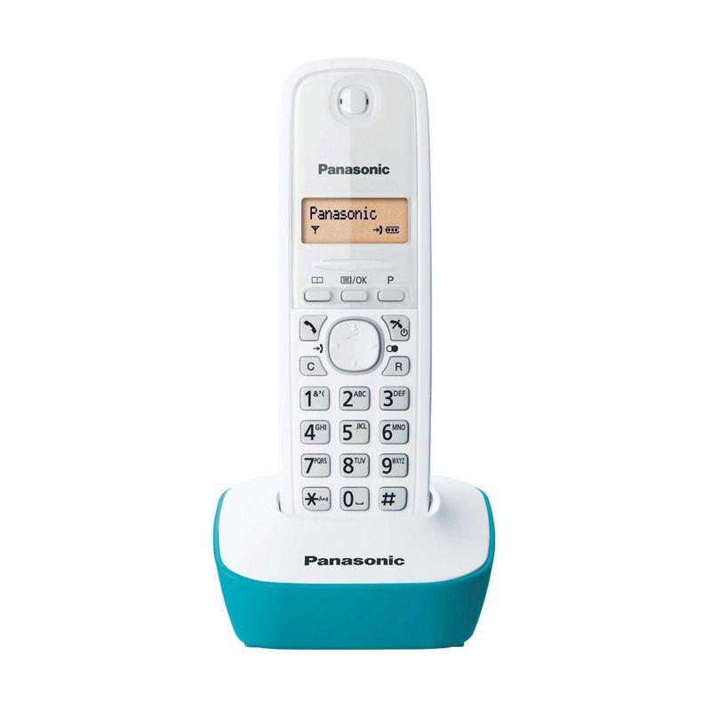 Panasonic  KXT-1611 Blue Cordless Telepon