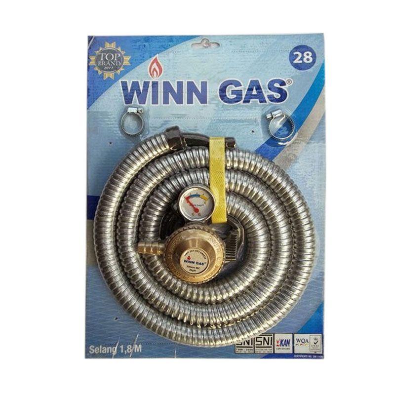Winn Gas Paket Meteran Selang Gas