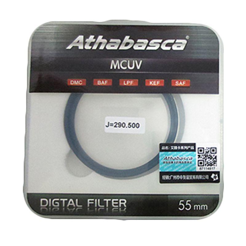 Athabasca MC UV 55mm Filter Lensa Kamera