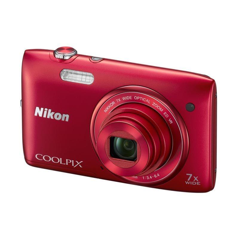 Nikon Coolpix S3500 Red