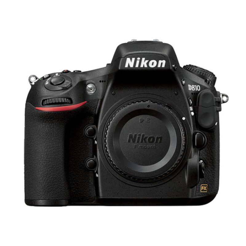 Nikon D810 Body Only (BO) Hitam