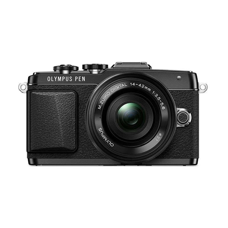 Olympus E-PL7 KIT 14-42mm 2R Kamera Mirrorless - Black