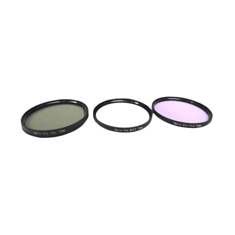 Optic Pro Filter Kit 72mm