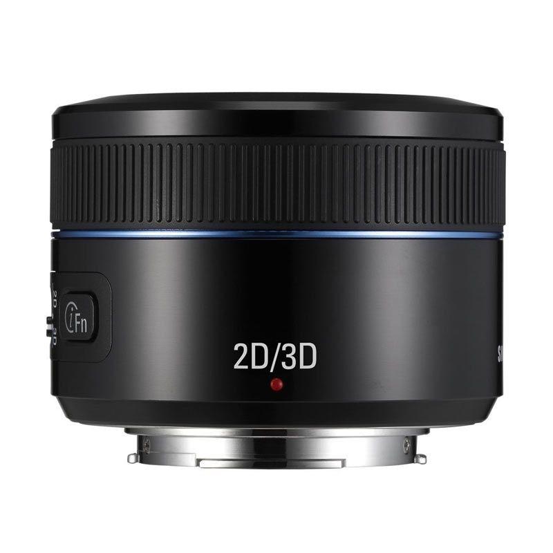 Samsung Lens 45mm f/1.8 2D/3D Black