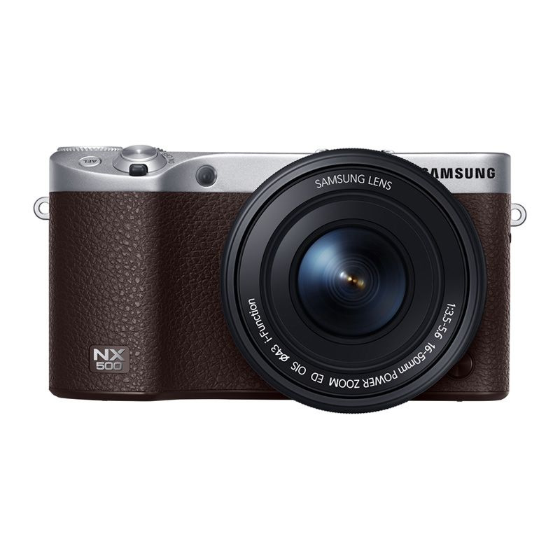 Samsung NX500 16-50mm Brown Kamera