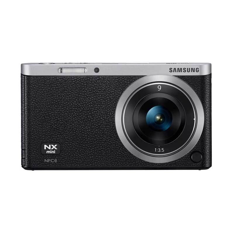 Samsung NX Mini NXF1 9mm Kamera Hitam