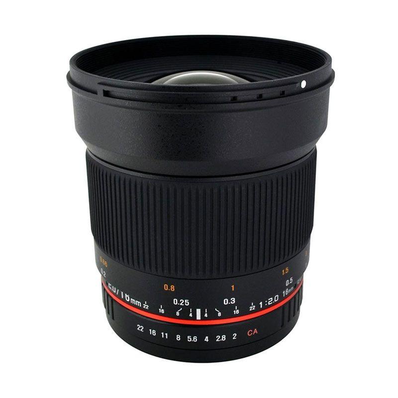 Samyang Lens 16mm f/2 for Canon