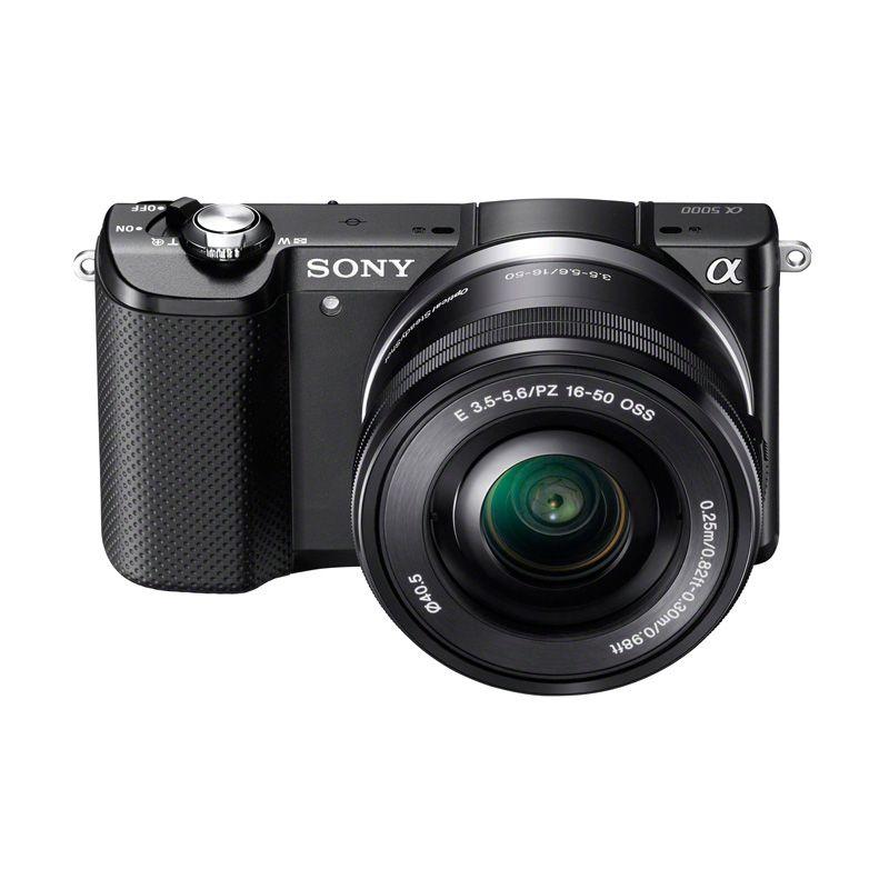 Sony Alpha ILCE A5000 L 16-50 Black Kamera